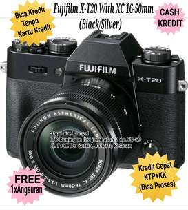MIRRORLESS CAMERA Fujifilm X-T20 with XC 16-50mm(New)-Bisa Kredit&Cash