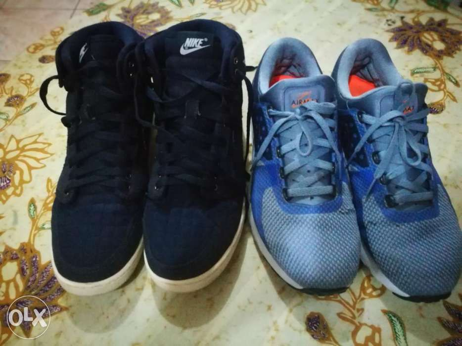 new styles 22bed e3254 REPRICED   Air Jordan 1 Retro KO Quilted blue and Nike Airmax Zero ...