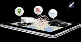 GPRS car tracker supports geo fencing google map mobile app & alarms..