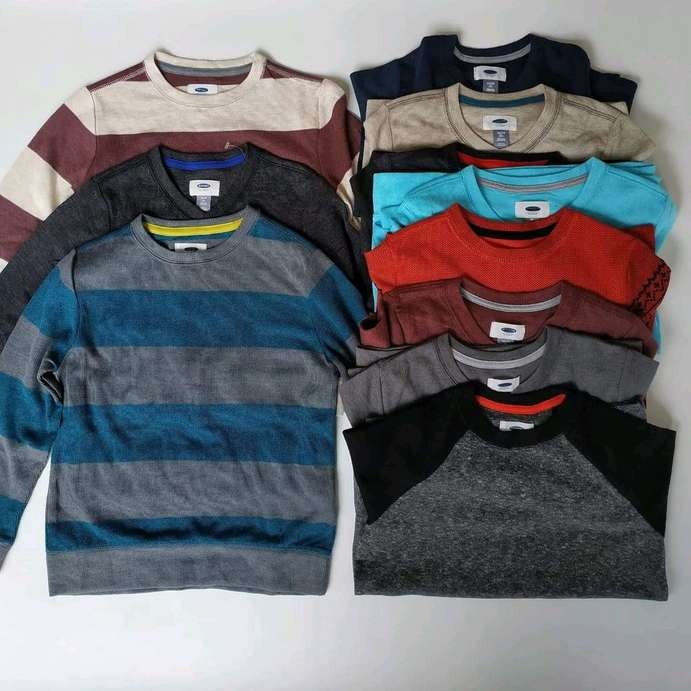 old navy sweater anak size 5-16th