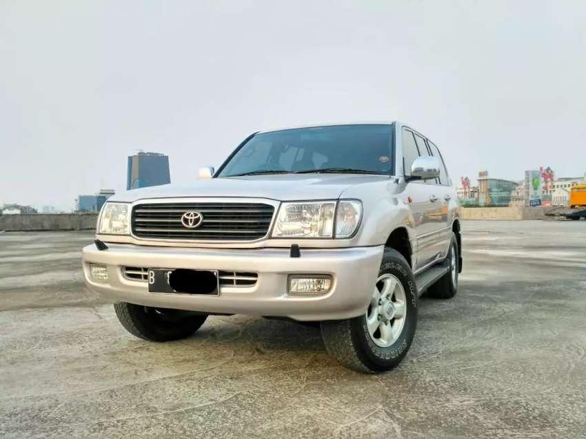 Toyota Land Cruiser Diesel >> Toyota Land Cruiser Vx 100 Diesel At 2002 Mobil Bekas