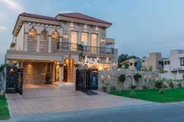 20 Marla bungalow Design house Dha defence Phase 5 price 745 lac