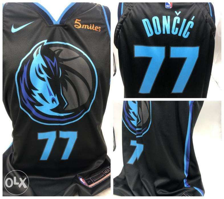 d1d02f36aa8b Hot LUKA DONCIC 77 Dallas Mavericks Sublimation NBA Jersey in ...