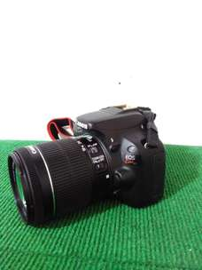 Camera Canon Kiss X7 Lensa 18-55mm IS STM Ada port MIC