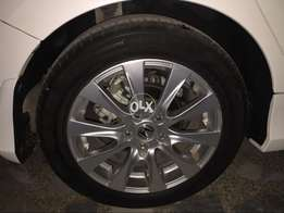 17 inch accord rims tyres