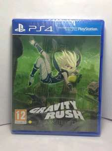 gravity rush ps4 like new