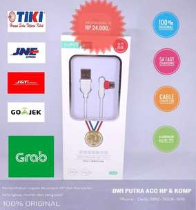 Kabel Data Micro XIPIN LX-19 1M 5A Fast Charging White Original