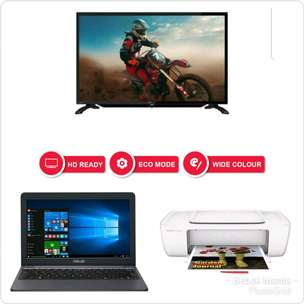 TV Sharp | Laptop Asus | Printer HP