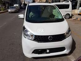 Nissan Dayz 2014 fresh clear G Package Pearl White Color