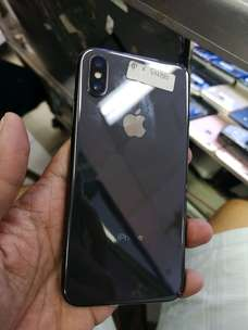 IPHONE X 64 Gb Space Grey mulus 98% Fullset Original bergaransi Murah