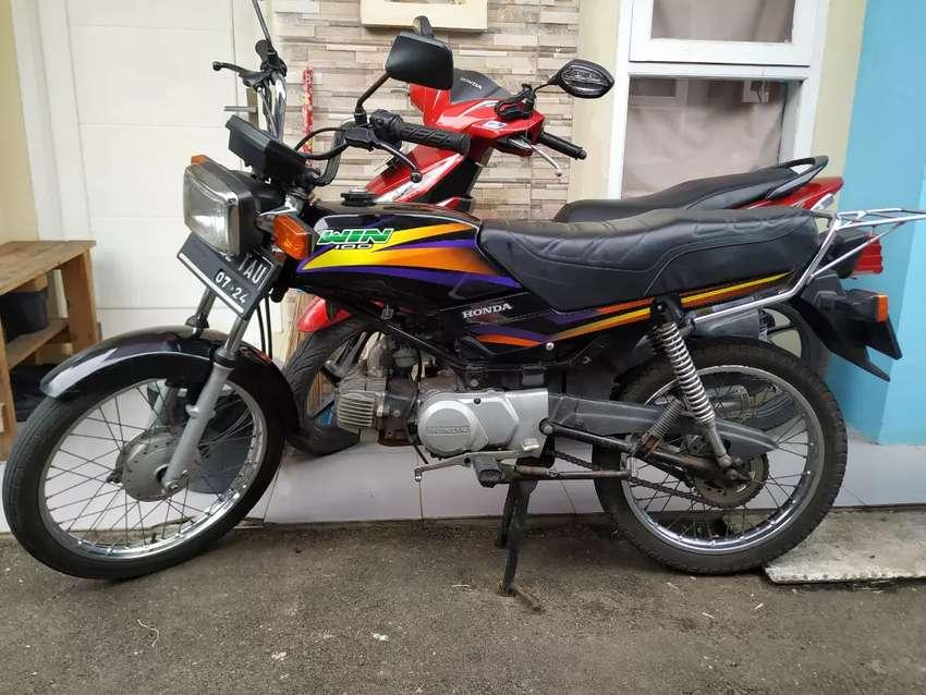 Honda Win 100 Original Jual Bt Bajaj Roda 3 Motor Bekas 820231280