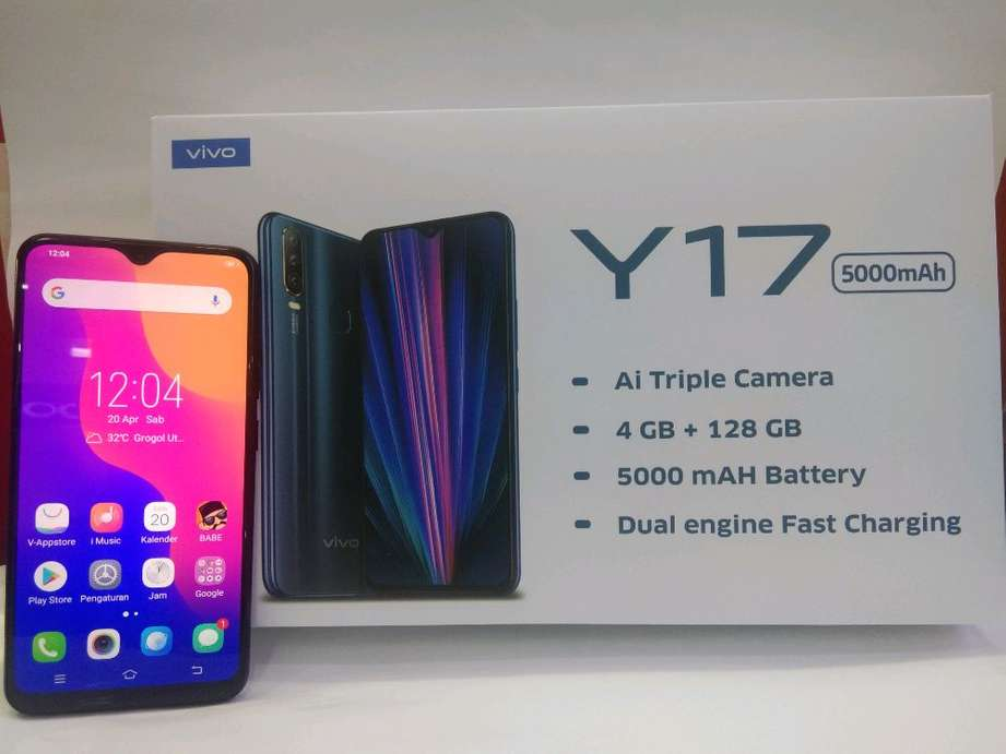 Vivo Y17 with Triple Rear Cameras, 5,000mAh Battery Launched in India: Specifications, Prices