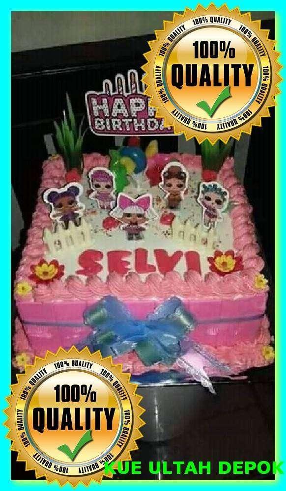 Kue Ulang Tahun Anak Perempuan Kuda Poni Lainnya 796857920