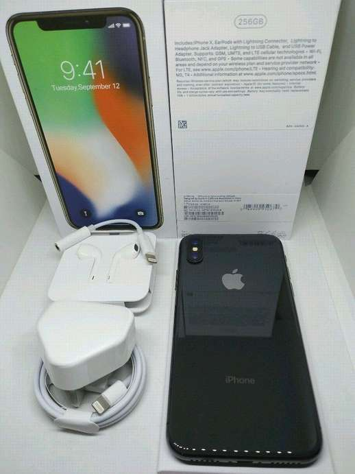 Apple iPhone X 256Gb Space Gray Mulus Like New Fullset Surabaya ... 05ffd971d7