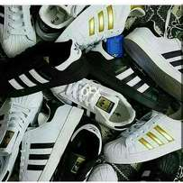 Pack of adidas super star shoes