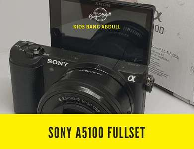 Sony A5100 Fullset Like New