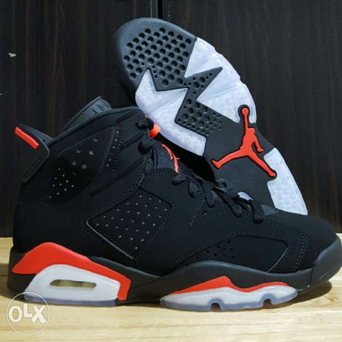 2a938c75ee31 Mens Size 8 Air Jordan 6 Black Infrared 2019 Nike retro shoes 1 9 11 ...