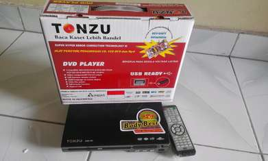 pemutar disc/dvd player tonzu