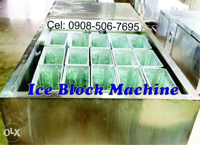 Block Ice Maker Mini Ice Plant 800 Kgs Capacity With Molds
