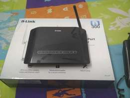 D-link Modem Is In Excellent Condition To Use