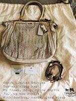 cd1617dcbebf Authentic Coach Limited Edition Sling Bag louis vuitton prada chanel