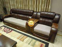 Home used leather sofa in DHA