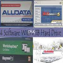 All Data With 4 Software 1 TB Hard Drive Wiring Diagrams Car Scanner