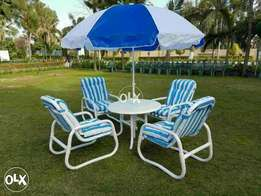 Janubii pvc chairs set