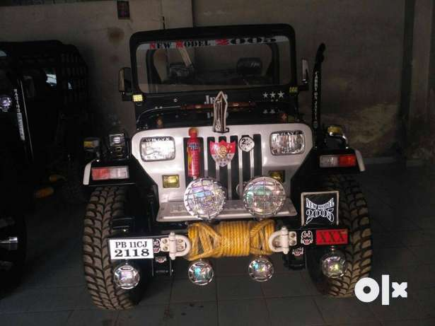 open Jeep modified power steering power bank