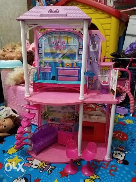 Toys 2 Story Barbie Doll House For Kids In Valenzuela Metro Manila