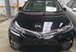 Toyota Corolla Altis Grande 2017 On Installments