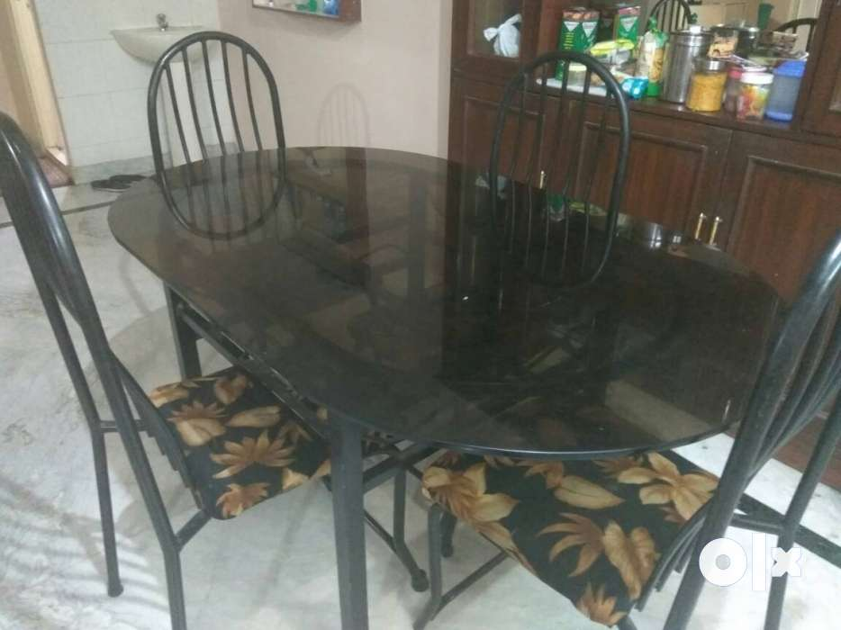 Glass dining table 4seats Hyderabad Furniture  : images1000x700inslot1filenamebg2xno8axl0r1 IN from www.olx.in size 934 x 700 jpeg 48kB