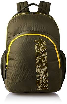 96eef54e8e American Tourister 27 Ltrs Olive Casual Backpack