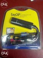 Easycap Device AV to USB (Video/audio Capturing/live Streaming Device)