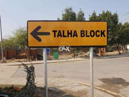 Bahria Town Lahore Talha Block 10 M Corner Ideal Location