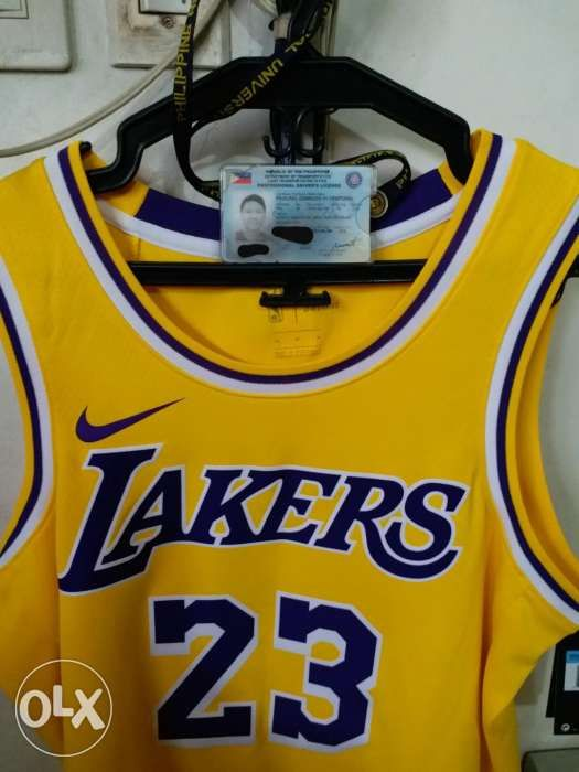 27ec83647 Nike Lebron james Lakers swingman Jersey 23 not jordan adidas in ...