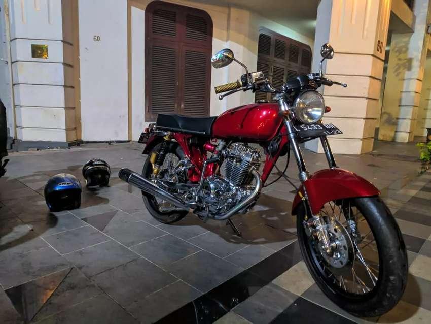 Honda Gl Max Modif Cb Motor Bekas 755574350