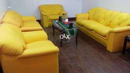 Leather Sofa (rexine) For Urgent Sale