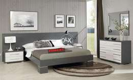 Complete double bed set with Dressing