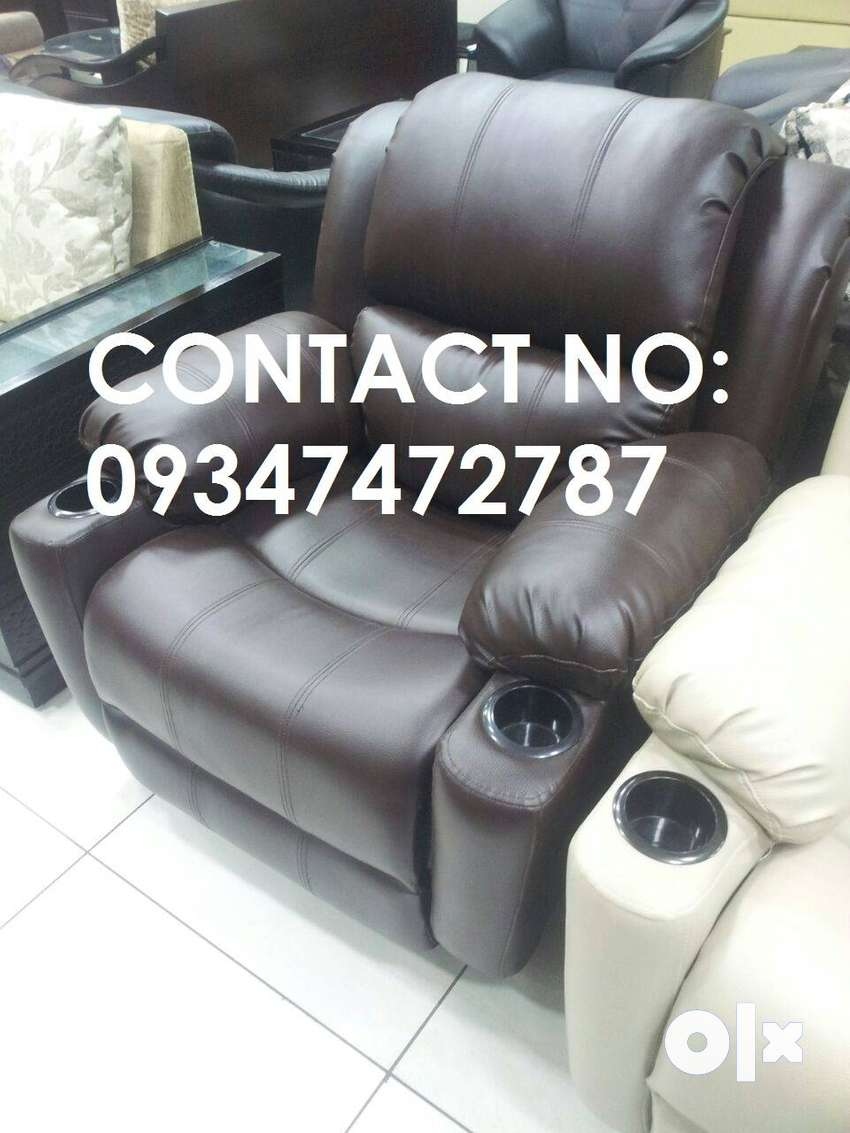 Incredible Flat Back Brand New Recliner Sofa Best Quality New Leather Home Remodeling Inspirations Propsscottssportslandcom