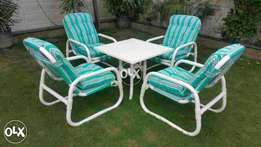 Rezaain pvc chairs set