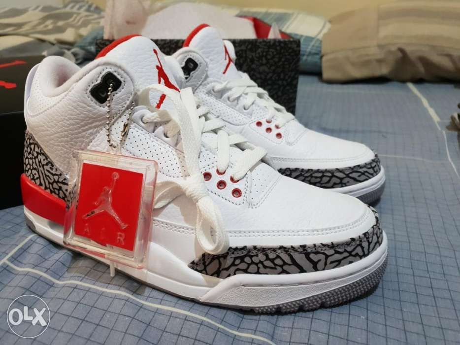 promo code 622ef 46e48 Nike Air Jordan 3 Retro Hall Of Fame Katrina Size 7.5 US Mens BNEW ...