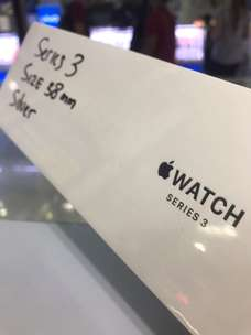 Apple Watch Seri 3 (Baru) Silver 38mm
