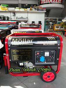 Genset Molar MLR 3500 S, out put 2000 Watt NEW (DIAN TEKNIK JOGJA)