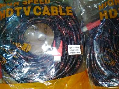 Kabel Hdmi Male to Male 20m Model Jaring Gold Plated High Quality