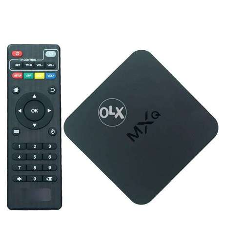 Android Smart TV BOX MXQ - 4K WIFI H.265 Quad-Core 1G+8G 2.4GHz