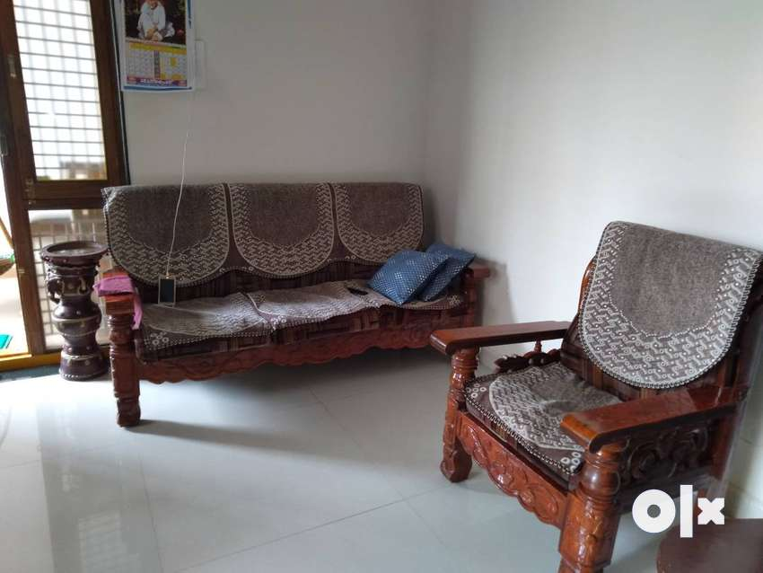 Wooden Sofa 3 2 Seater With Cushion Sofa Dining 1588515221