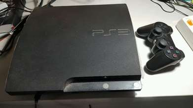 PS 3 player, video game