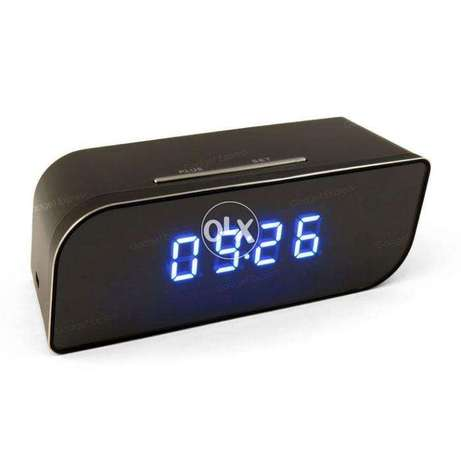 Hidden WiFi Table Clock T3 camera free delivery