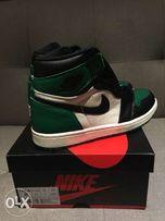 brand new fac6c 5b3d2 Nike Air Jordan 1 Pine Green Size 8